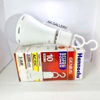 Hannochs genius 10watt murah lampu emergency ac/dc 10w bohlam