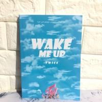 Buku Polos TWICE - WAKE ME UP - Japan Album Ver. Agenda Polos Book Yes