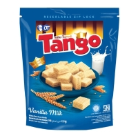 Wafer Tango Pouch 125gr - Cokelat Vanila