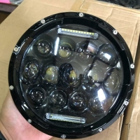 Lampu depan headlamp daymaker ori original spider eye 7 inchi import