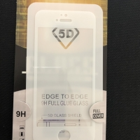 TEMPERED GLASS FULL GLUE 5D CURVER IPHONE 5/5s FULL COVER