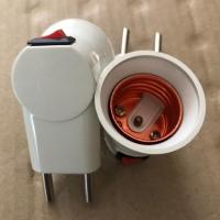 Fitting lampu colok saklar