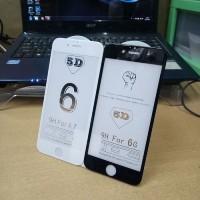 Tempered Glass 5D Melengkung Full Lem Full Layar Iphone 7