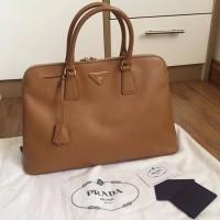 Prada authentic bag second preloved ori original tas saffiano