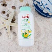 Bambi Baby Prickly Powder/Bedak Bayi/Baby Powder/ prickly powder/bambi