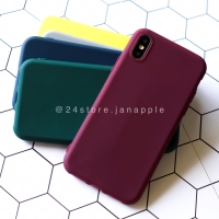 Macaron Polos Warna Soft Case Iphone 6 6S 6+ 6S+ 7 7+ 8 8+ X XR XS MAX