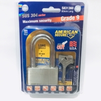 Gembok American Secure 60mm Panjang Anti Cut Anti Acid ORIGINAL