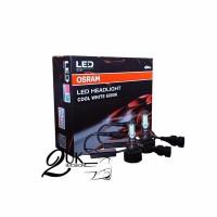 Lampu Bohlam Headlight / Headlamp Mobil LED OSRAM HB3 / HB4 6000K 12V