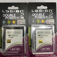 Baterai Battery Log on double power double IC Advan S50F