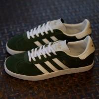 sepatu ADIDAS GAZELLE hijau putih stock terbatas