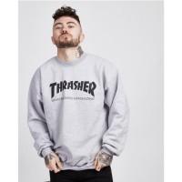 Thrasher Skate Mag Crewneck Sweatshirt • Colour: Grey •