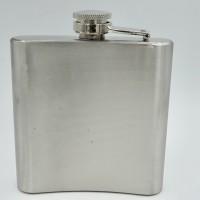 Hip Flask 6 Oz Stainless Steel Portable Wine Whisky Bottle Drinkware