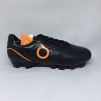 Sepatu bola Ortuseight Original Genesis FG Black orange new 2019