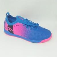 Sepatu futsal specs original Swervo Thunderbolt 19 IN tulip blue new