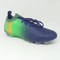 Sepatu bola specs original Swervo Thunderbolt FG shadow blue green
