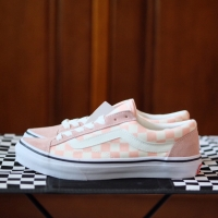 VANS JP Checkerboard Pink Old Skool