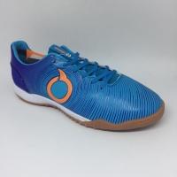 Sepatu futsal Ortuseight original Catalyst Oracle IN Biru new 2018