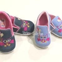 Sepatu citcit anak owl/ sepatu anak/ sepatu bunyi/ sepatu jeans bunyi