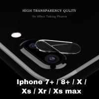 Tempered glass camera iphone 7 plus 8 plus pelindung kamera anti gores