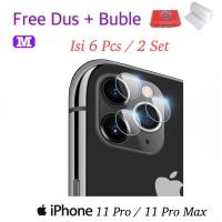 MAXFEEL Soft Tempered Glass Camera Kamera Iphone 11 Pro 11 Pro Max