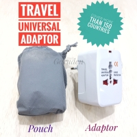 Travel Adaptor Universal Internasional Colokan Listrik Multi Konversi
