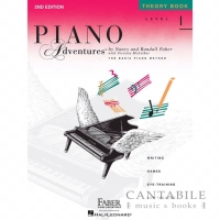 Piano Adventures Theory Book - Level 1