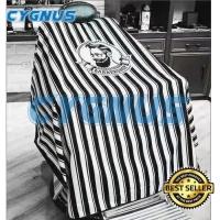 Kip Potong / Kep Potong Barber Beardman Black Stripe