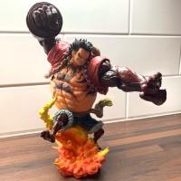 Resin POP Monkey D Luffy Gear 4 Kong Gun Crimson Color Ver. Figure