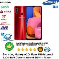 Samsung Galaxy A20s A20 s 3GB/32GB 3/32 Garansi-Resmi-Sein-Red-Merah