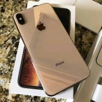Iphone xs max 256Gb Gold garansi masih aktif sampai 2020