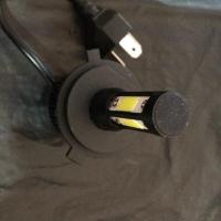 Lampu utama ODM Chips 100W LED Cree Auto Bulbs Headlamp 4 sisi kipas