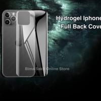 Iphone XS Max Anti Gores Belakang Hydrogel
