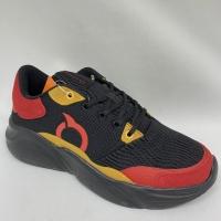 Sepatu running Ortuseight original GRANADA core black red new 2019