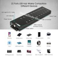 Sipolar High quality 20 Port USB HUB for iphone ipad mobile Charge