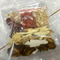 Tim ayam obat herbal chinese komplit gingseng tim kue cia po ciak po