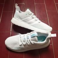 Sepatu Original Adidas Questar Flow Parley White BNWB