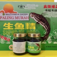 Saripati ikan gabus sari pati ikan gabus sheng Yu jing haruan isi 6btl