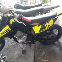 Kawasaki KLX 150 Kuning / Motor Sport