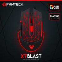 MOUSE GAMING RGB Fantech X7 Blast Macro BELI 10 GRATIS 10 MOUSEPAD