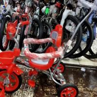 Sepeda Anak Dorongan Stir Exotic Jagaan Nekel Chrome