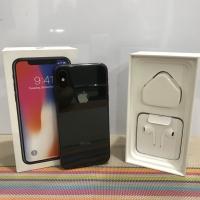 iPhone X 64gb Space Grey ex inter Fullset