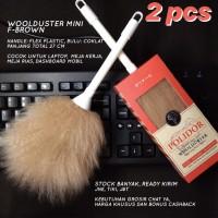 2 PCS Kemoceng Bulu Domba MINI