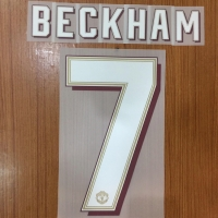Original Nameset Manchester United 2019-20 Bekham