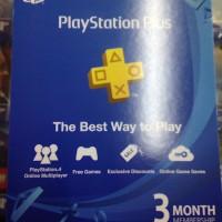 Playstation Plus 3 bulan Asia/Indonesia