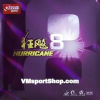 DHS Hurricane 8 - Karet Rubber Bet Bat Pingpong Tenis Meja