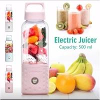 Electric juicer VITAMER praktis bisa dibawa2 portable cantik 500m