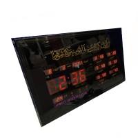 Jam Sholat Adzan Digital Otomatis 6 Waktu Azan Dinding Besar 4622-Y2