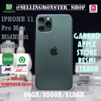 (Dual sim) Iphone 11 Pro Max MidNight Green - 256GB Ori 100% apple 1th