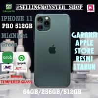 iphone 11 Pro Midnight Green - 512GB Garansi Apple Store Resmi Ori100%