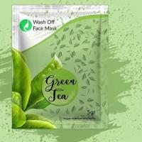 Masker Organic Green Tea Go Kefir